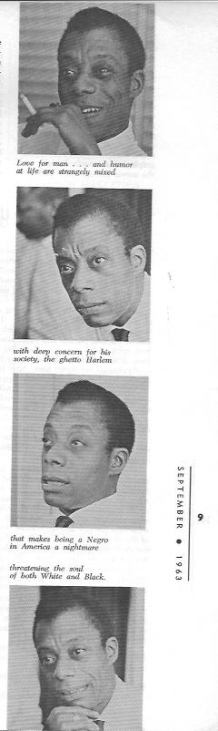 James Baldwin photos by Arnold Gassan